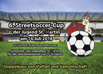 Flyer Streetsoccer-Cup 2018